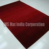 Red Handloom Woolen Carpet