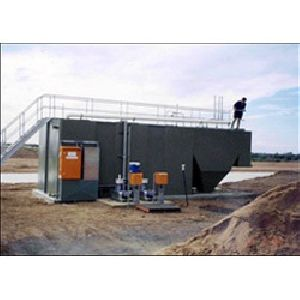 Compact Sewage Treatment Plant 01