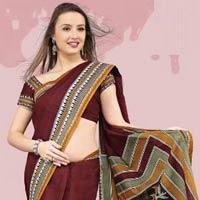 Designer Cotton Saree (01)