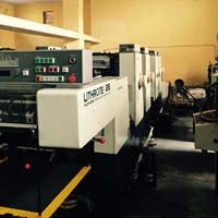 Sheet Fed Offset Printing Machine (Komori Lithrone 426)