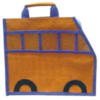Jute Fabric Kids Bags 02
