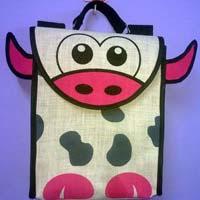 Jute Fabric Kids Bags 04