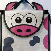 Jute Fabric Kids Bags 05