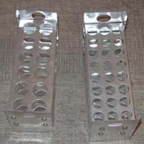 Test Tube Stand Metal 12 and 24 Holes