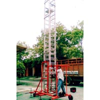Aluminium Non Tilting Tower Ladder