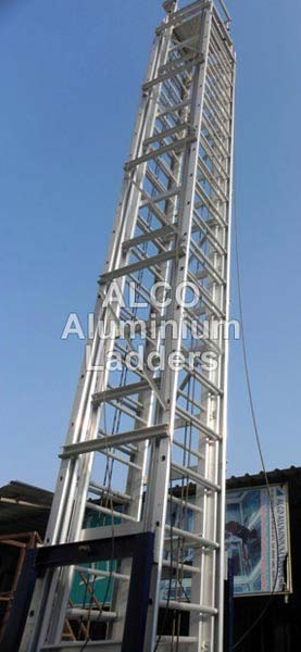 Aluminium Tiltable Tower Ladder 03