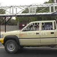 Aluminium Vehicle Mounted Tower Ladder 01