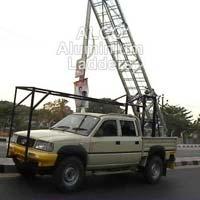 Aluminium Vehicle Mounted Tower Ladder 03