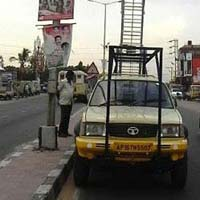 Aluminium Vehicle Mounted Tower Ladder 04