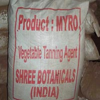 vegetable leather tanning agents