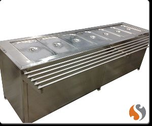 Tray Slide Bain Marie Service Counter