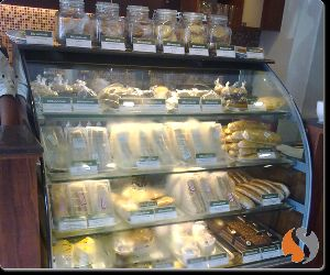 Border Design Cold Display Counter