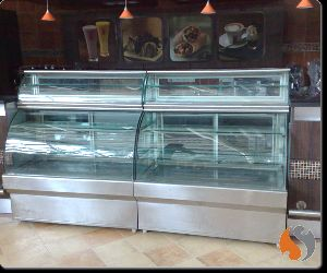 Top Extension Cold Display Counter