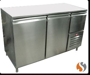 Marble Top Under Counter Refrigerator Deep Freezer