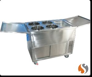 Mobile Bain Marie with Hot Case