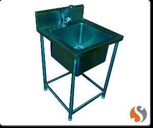 Splash Guard Single Sink Unit