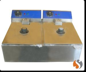 Table Top Double Deep Fat Fryer (Imported)