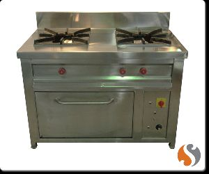 Electric Oven Two Burner Gas stove