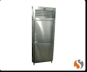 Two Door Vertical Refrigerator Freezer