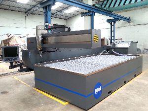 CNC Water Jet Profile Cutting Machine