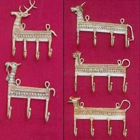 Brass Wall Hooks - Animal Shape
