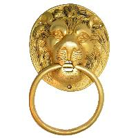 Door Hardware fitting Lion face knocker
