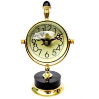 Table Clock Moon Style for Shelf Decoration & Gift