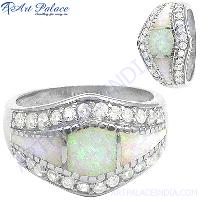 925 Sterling Gemstone Silver Ring