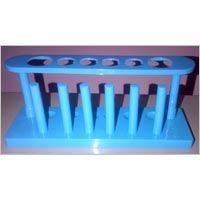 Test Tube Rack Poly 6 Tubes