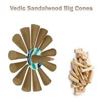 Vedic Sandal Big Cones 20 pcs