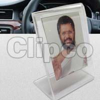 L Shape Acrylic Sigle Photo Stand