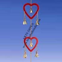 Red Heart Wind Chime