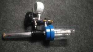 FA Valve With Rotameter & Oxygen Humidifier Bottle