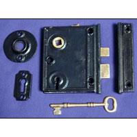 Cast Vertical Rim Lock