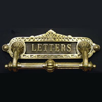 Letter Plate with Handle