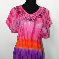 Ladies Tie Dye Dress