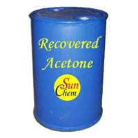 Recovered Acetone Solvent