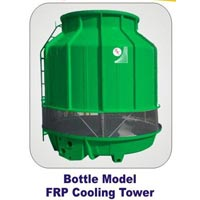 Bottle Model FRP Cooling Tower