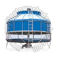 Natural Draft Cooling Tower 01