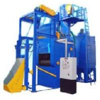 Tunnel Type Airless Shot Blasting Machine