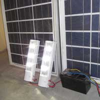 Solar LED Home Light System - 01