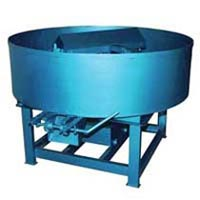 Pan Mixer : For Bottom / Second (Third) Layer of Pavers Block Mfg. )