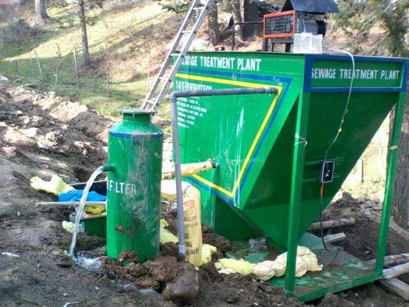 Sewage Treatment Plant 02