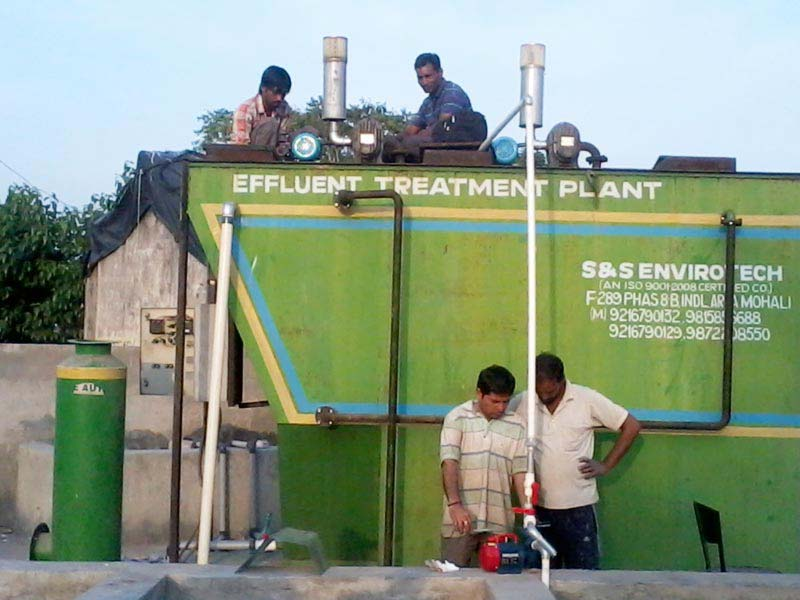 Wastewater Treatment System 06