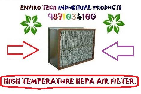 High Temperature HEPA Air Filters