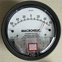 Low Pressure Differential Gauge
