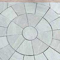 Kandla Grey Sandstone Circle Stone