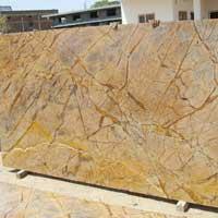 Rainforest Brown Marble Slabs