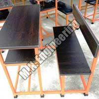 Compact Desk Bench 05