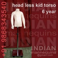 Head Less Kid Torso 6 year